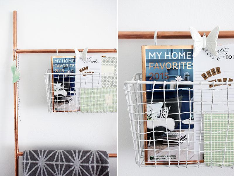 diy dekoleiter aus kupferrohren sch n bei dir by depot. Black Bedroom Furniture Sets. Home Design Ideas