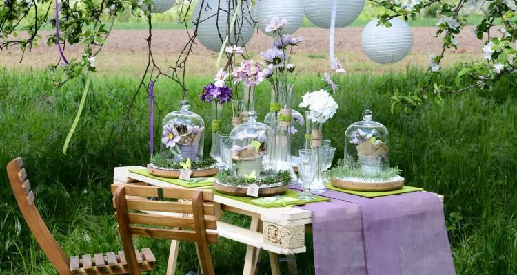 Keine gartenparty ohne den perfekt dekorierten tisch - Gartenparty hochzeit ...