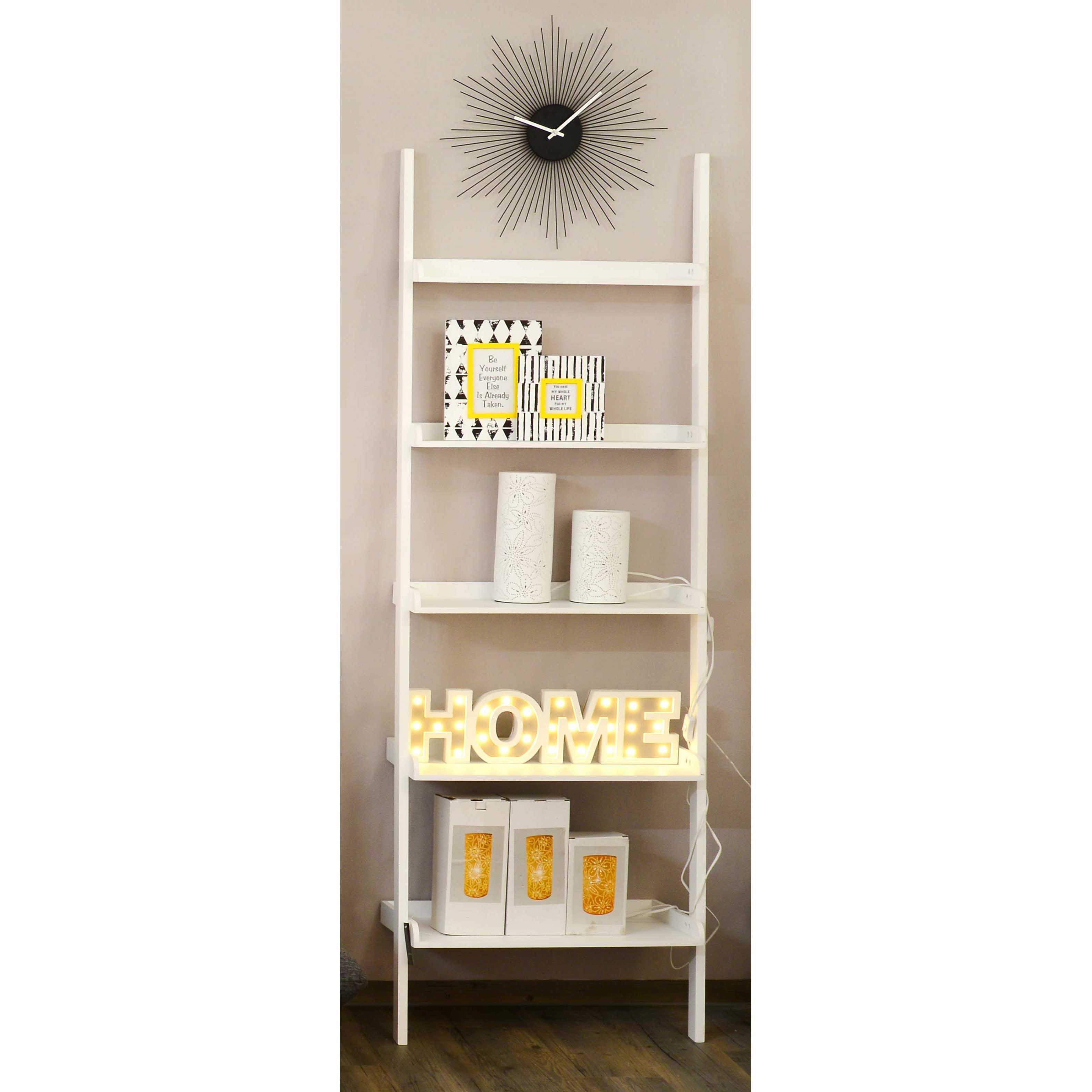 leiterregal 05 sch n bei dir by depot. Black Bedroom Furniture Sets. Home Design Ideas
