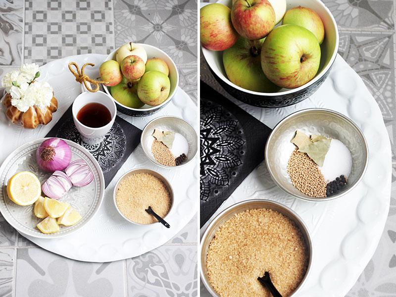 Zutaten-Apfelchutney