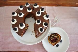 Brombeer-Marmorkuchen