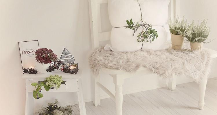 Schränkchen aus Fichtenholz Perfekt in Szene gesetzt