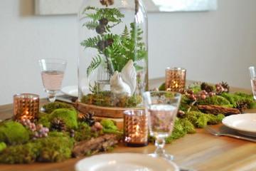 Dekoidee: herbstliche Tischdeko