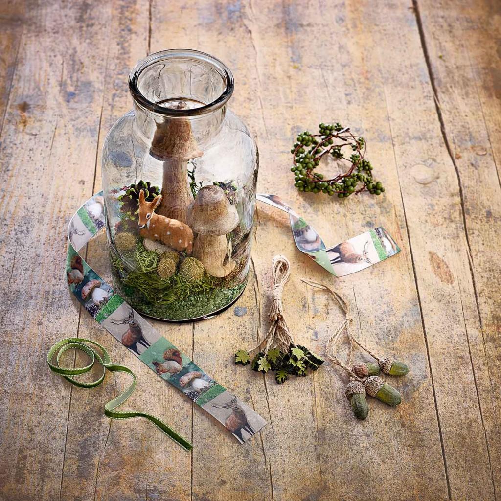 ein kleiner zauberwald in einem glas sch n bei dir by depot. Black Bedroom Furniture Sets. Home Design Ideas