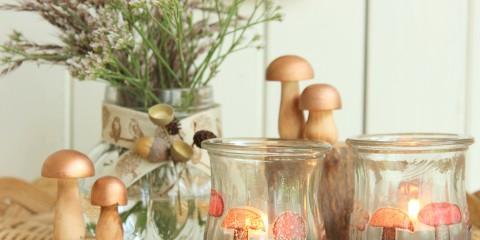 herbstliche Teelichter 10