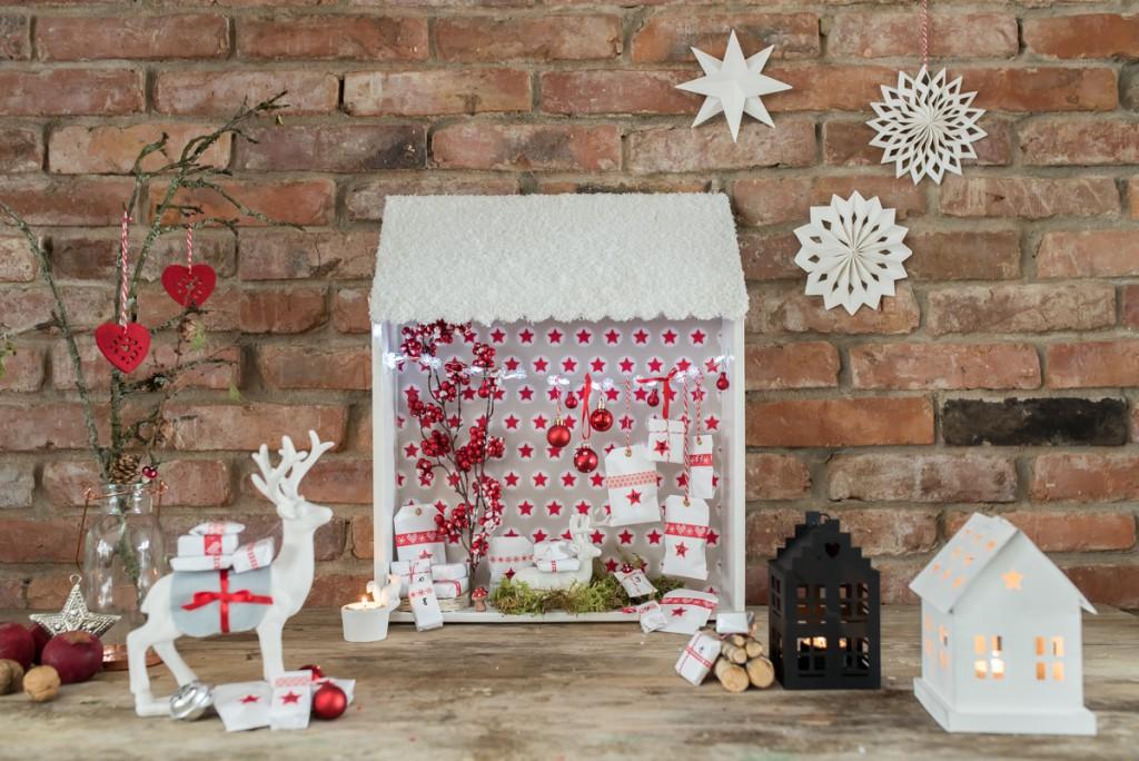 DIY Adventskalender Weihnachtswelt