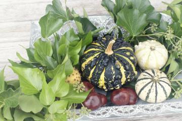 Herbstdekoration fuer Hof und Garten - 12