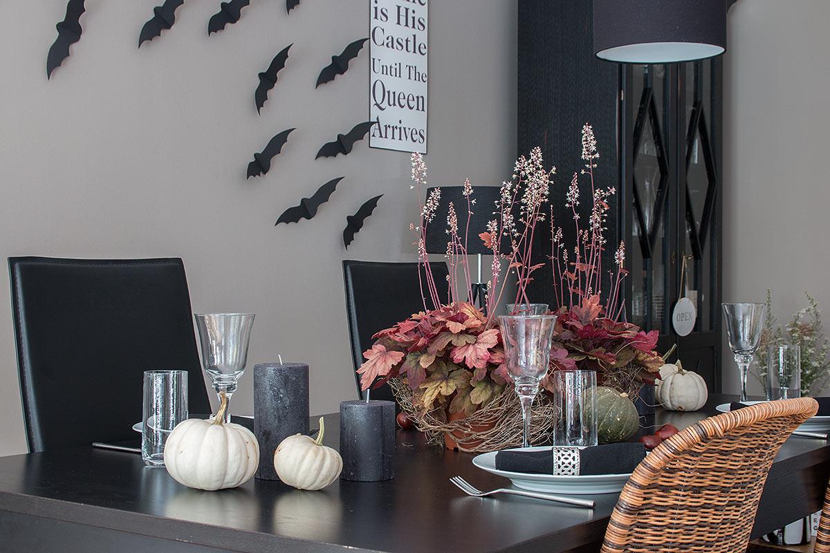 Tischdeko Halloween