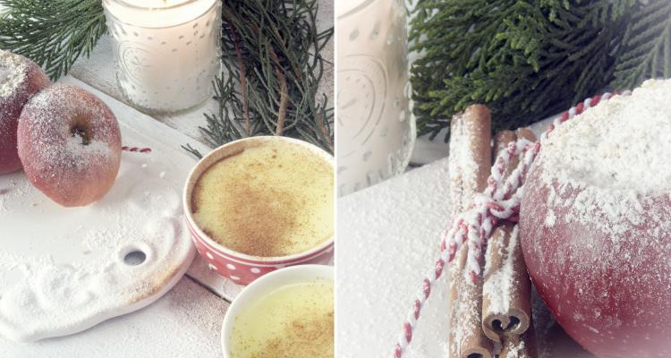 Gesund und lecker - Bratapfel mit Vanillesauce 7