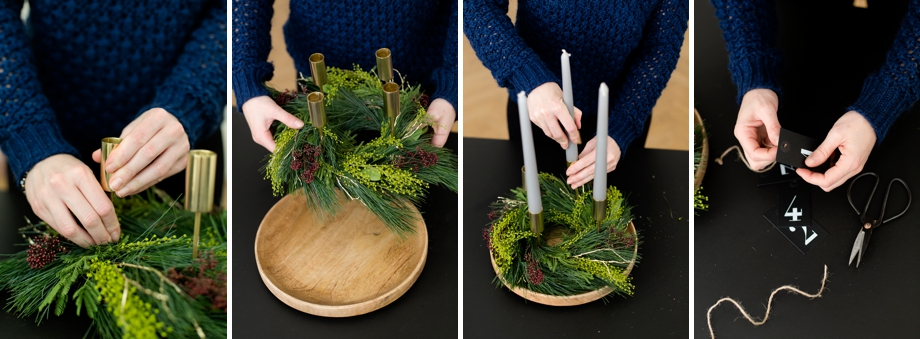 diy adventskranz mit naturmaterialien sch n bei dir by depot. Black Bedroom Furniture Sets. Home Design Ideas