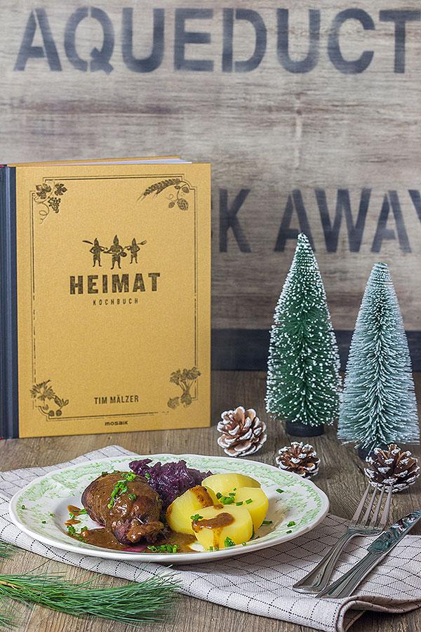 Weihnachtsessen rinderrouladen aus dem kochbuch heimat for Tim malzer die kuche buch