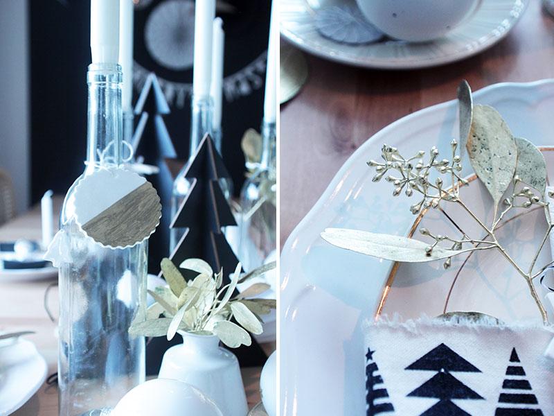 Tischdekoration-für-Weihnachten-mit-Details-in-Gold