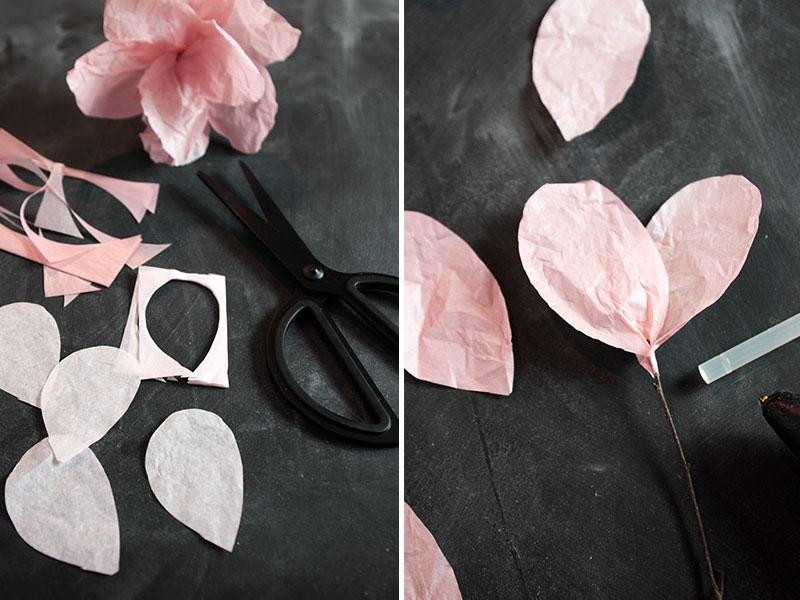 DIY-Papierblumen-Schritt-3+4