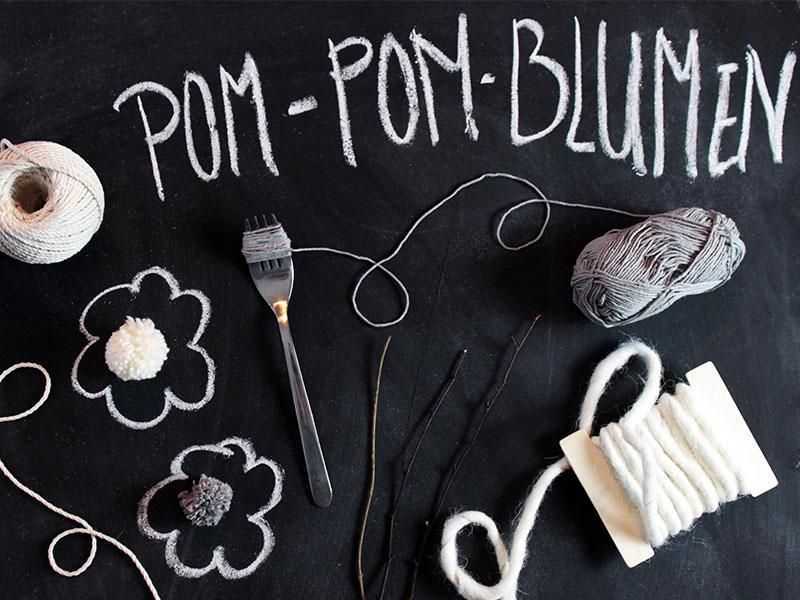 DIY-Pom-Pom-Blumen---Material