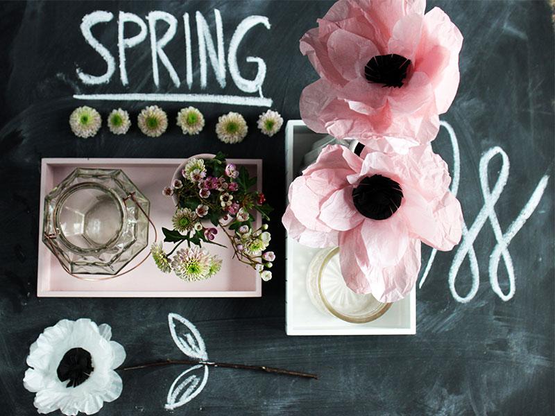 Papierblumen-als-Frühlingsdeko