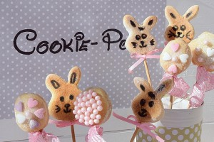 Osterhasen-Cookie-Pops 10kh