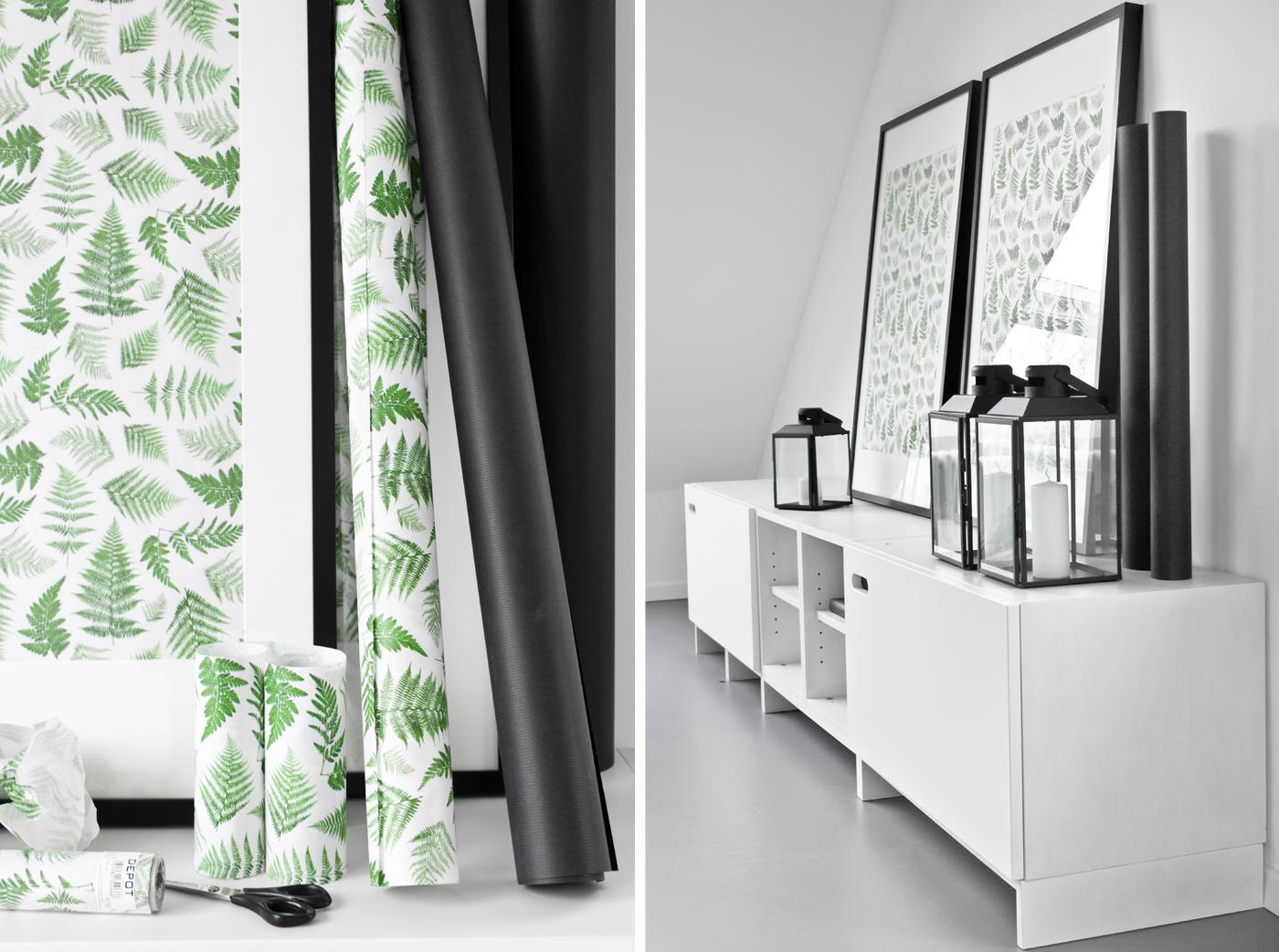 mit bilderrahmen gestalten sch n bei dir by depot. Black Bedroom Furniture Sets. Home Design Ideas
