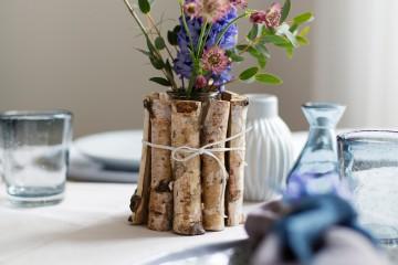 DIY - Tischdeko Idee mit Streudeko