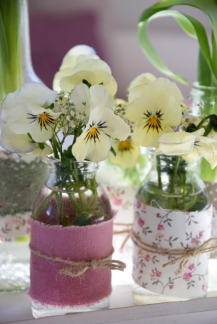 DIY-alte-Flaschen-neue Vasen 3k