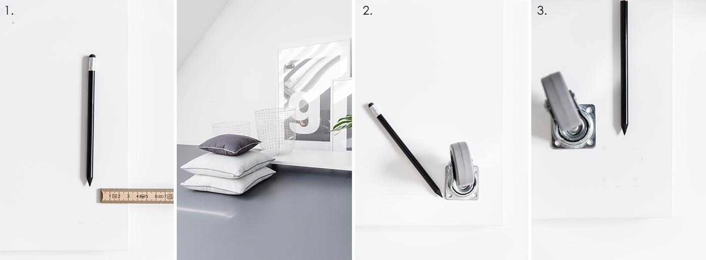 DIY Rollbrett - Arbeitsschritte