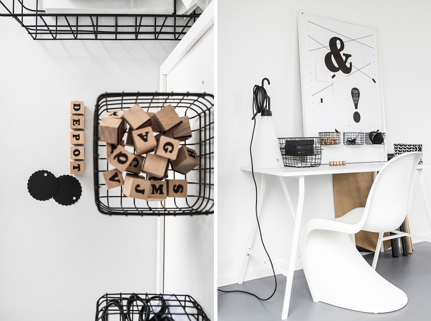 Ideen für ein Arbeitszimmer.