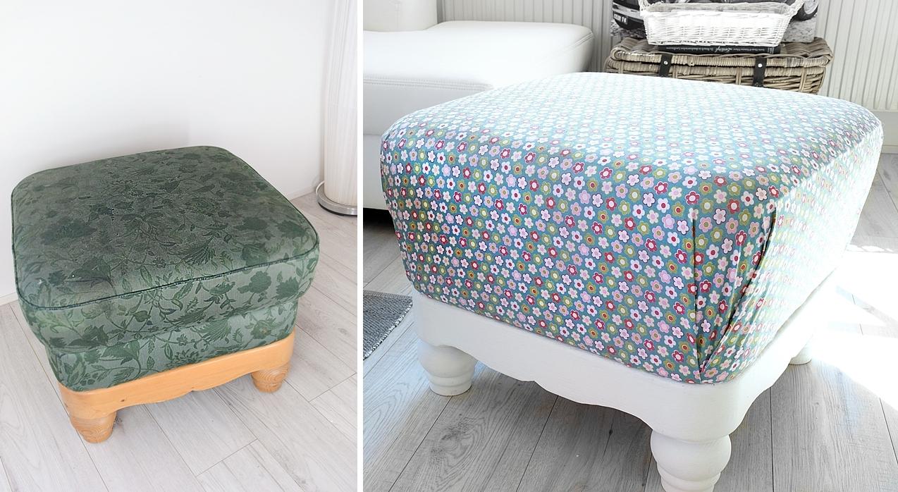 aus alt mach neu alter hocker neuer look sch n bei dir by depot. Black Bedroom Furniture Sets. Home Design Ideas