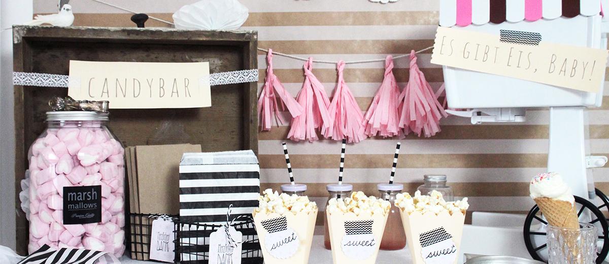 Candybar für die Hochzeit  Schön bei dir by DEPOT