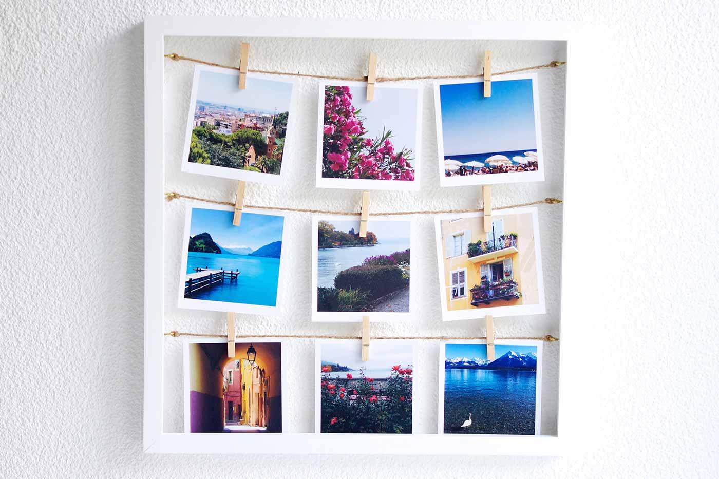 Gast-Beitrag: DIY Polaroid Collage | Schön bei dir by DEPOT