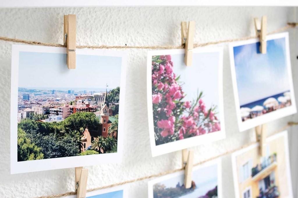 gast beitrag diy polaroid collage sch n bei dir by depot. Black Bedroom Furniture Sets. Home Design Ideas