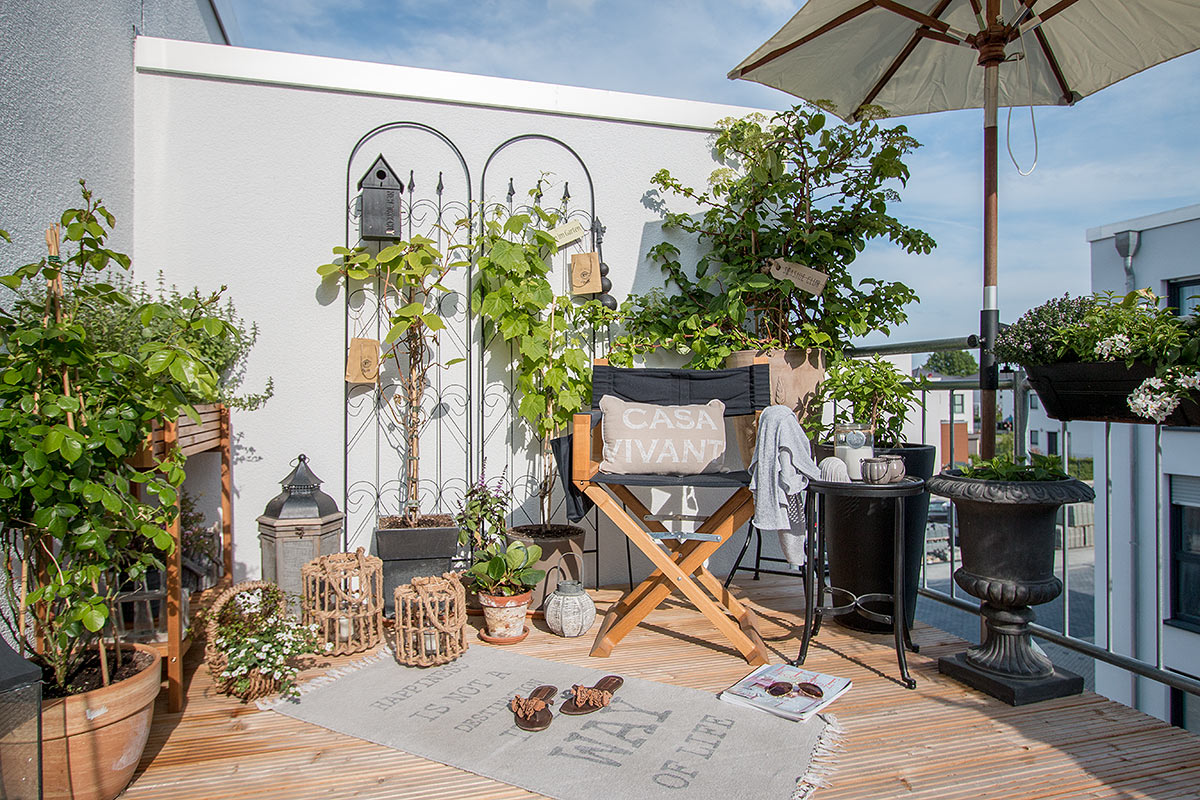 balkondeko im beach look sch n bei dir by depot. Black Bedroom Furniture Sets. Home Design Ideas