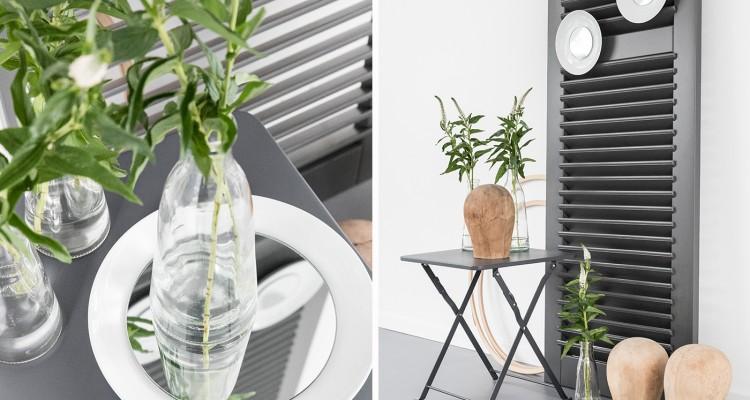 wanddeko mit tellerspiegeln sch n bei dir by depot. Black Bedroom Furniture Sets. Home Design Ideas