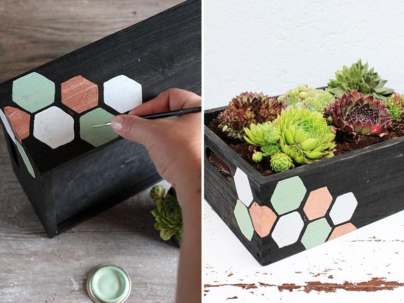 DIY-Blumenkasten-mit-Wabenprint