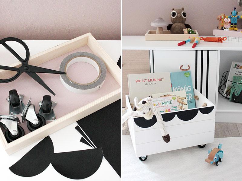 DIY-Spielzeugkiste