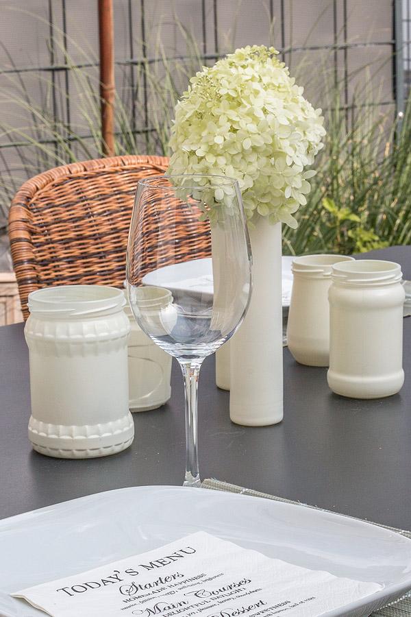 DIY Teelichthalter aus Marmeladengläsern