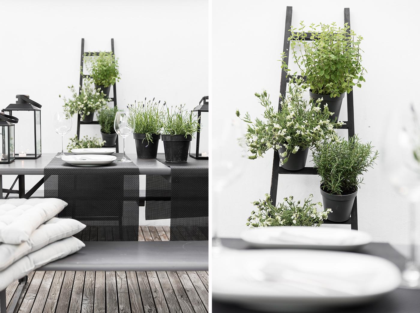 Kissen für die Terrasse