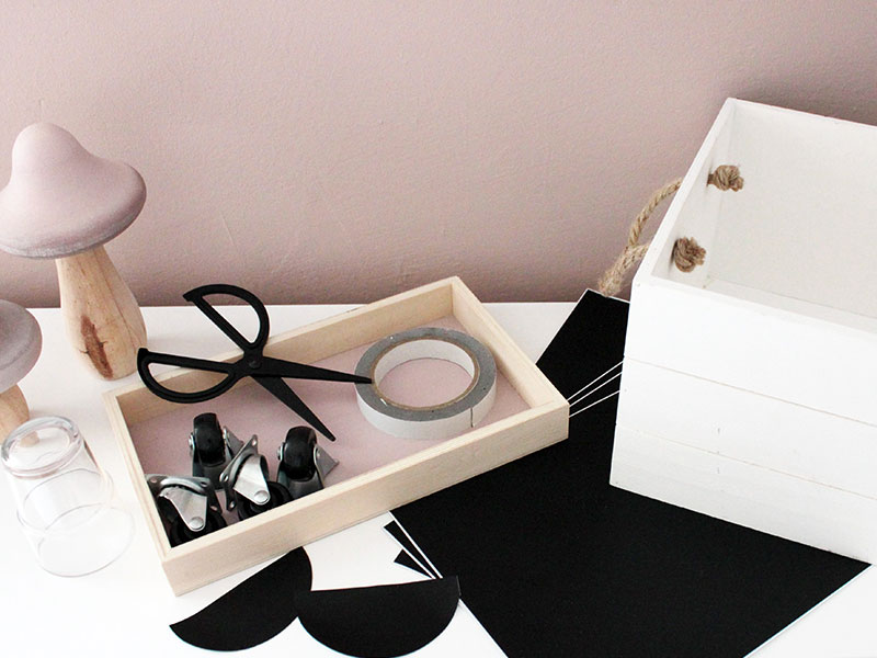 Material-DIY-Spielzeugkiste