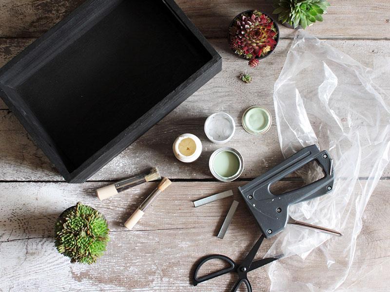 Matrial-DIY-Blumenkasten