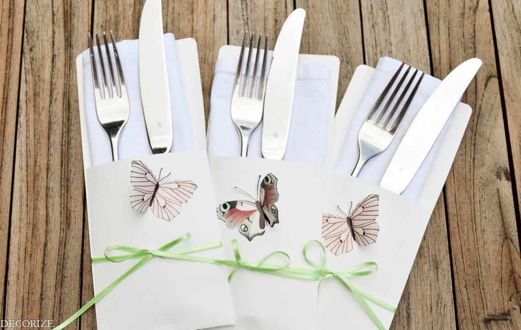 Sommer-Tischdeko Schmetterling-12