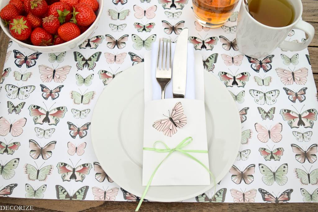 Sommer-Tischdeko Schmetterling-3