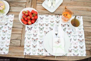 Sommer-Tischdeko Schmetterling-6