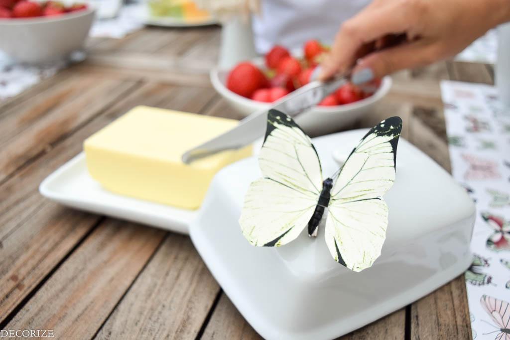 Sommer-Tischdeko Schmetterling-7