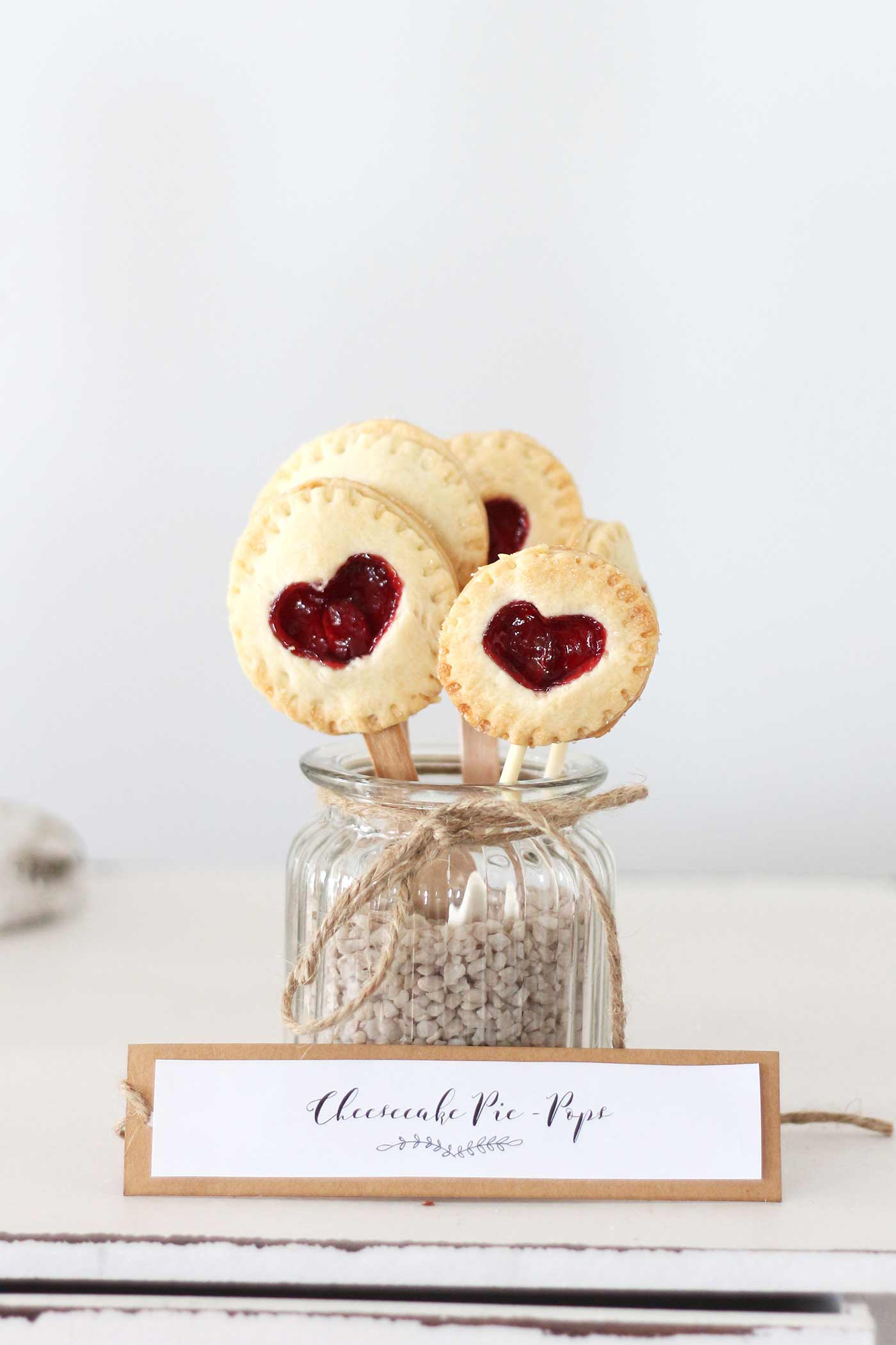 Cheesecake Pie-Pops
