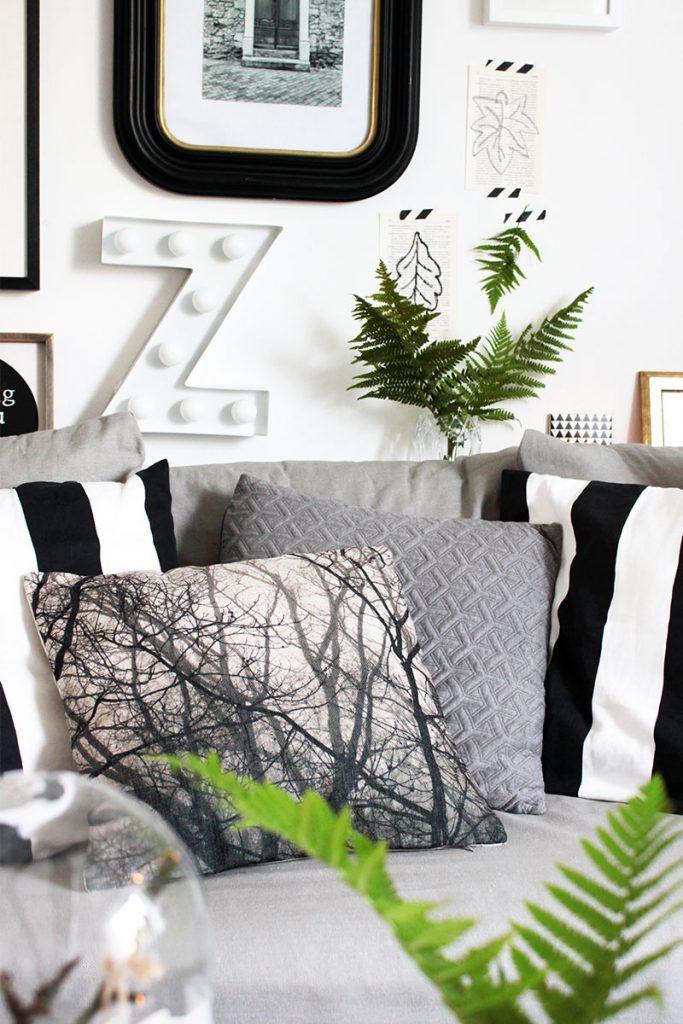 Wohnzimmer im Herbstdeko-Look einrichten - in nur 10 Minuten ...