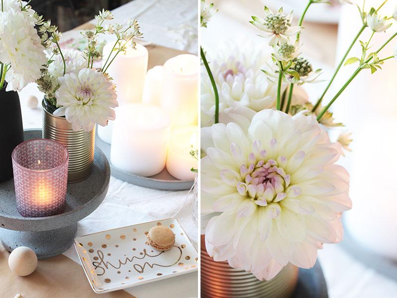 Tischdekoration-mit-frischen-Blumen