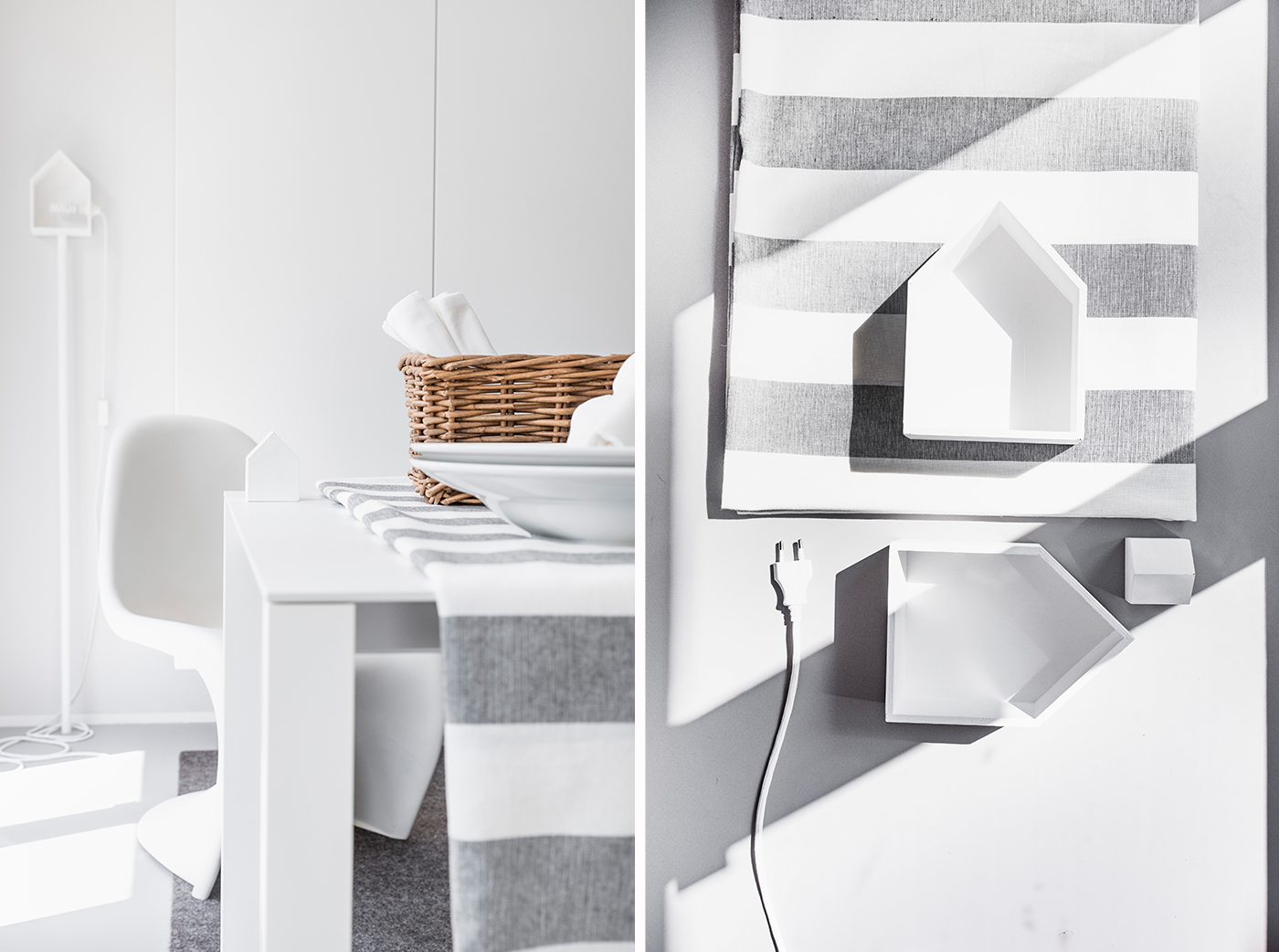 DIY-Lampe - Eine Stehleuchte aus Holz