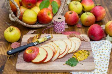 Apfelringe ganz einfach selber machen