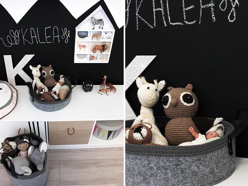 Aufbewahrungskorb-aus-Filz-fürs-Kinderzimmer