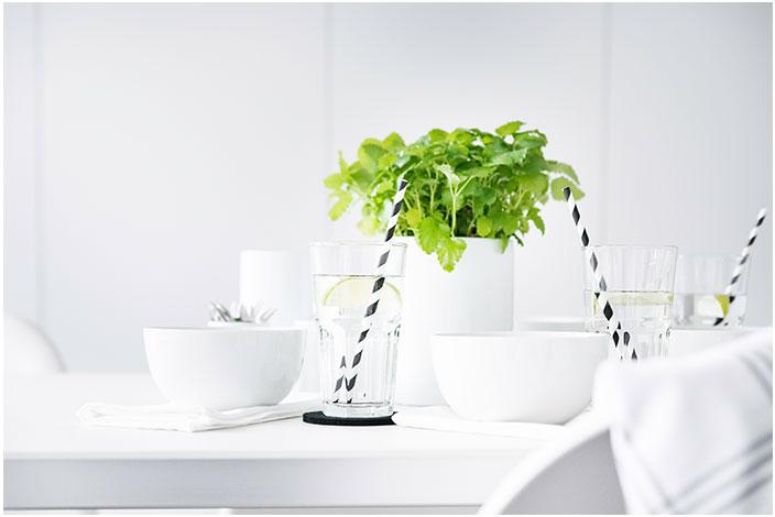 Gläser und Schalen für die Hausbar