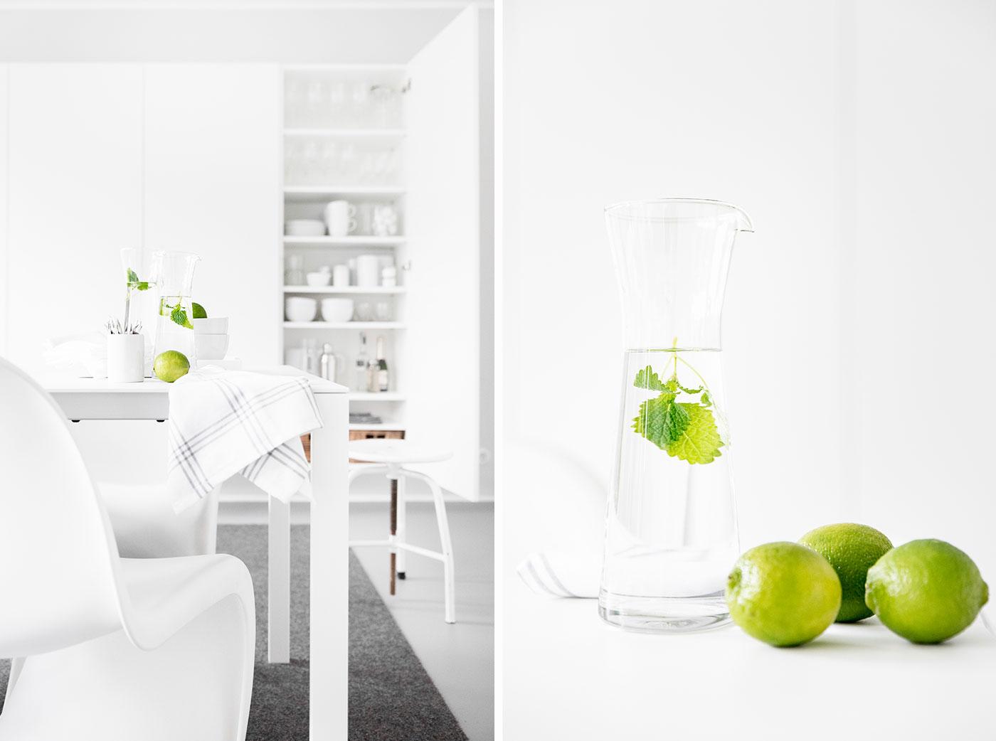 Glaskaraffen für die Hausbar.
