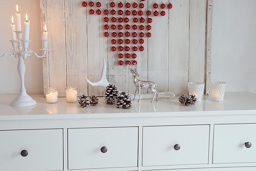 xmas diy ein hirsch aus weihnachtskugeln sch n bei dir by depot. Black Bedroom Furniture Sets. Home Design Ideas